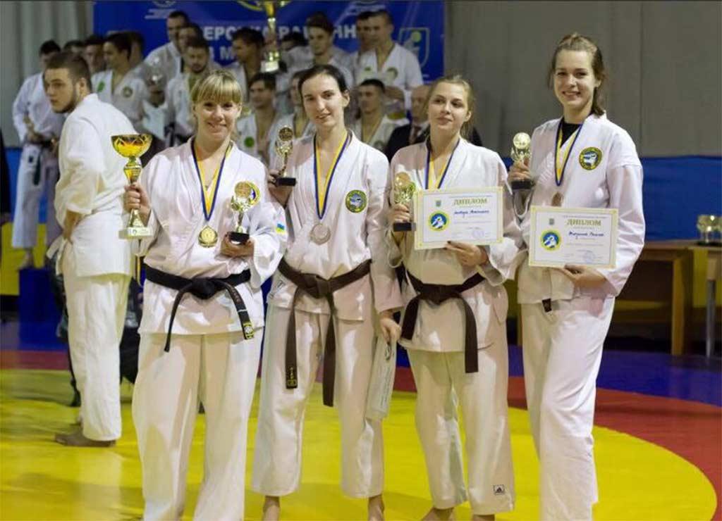 Всеукраїнські змагання з рукопашного бою