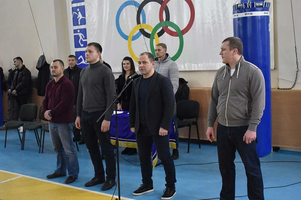 Почесний гість змагань – дворазовий олімпійський призер із дзюдо Роман Гонтюк