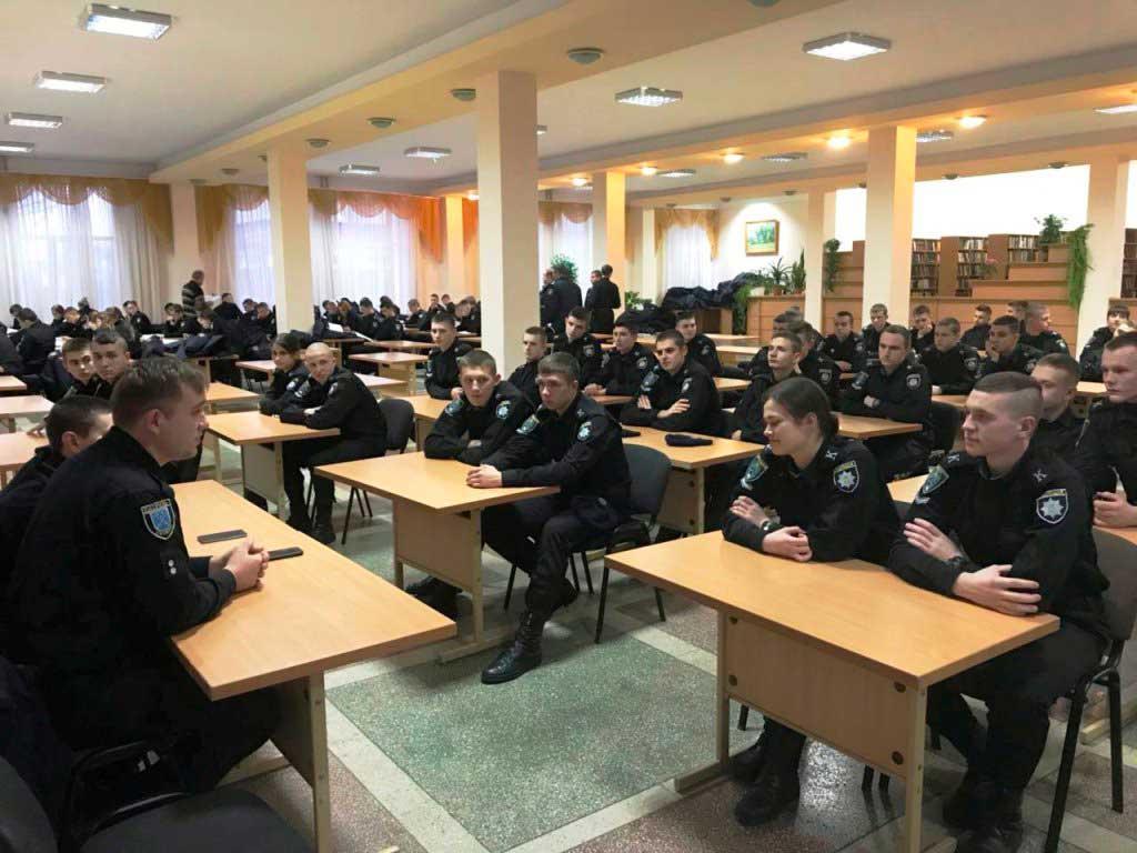 Пізнавальна бесіда курсантів факультету економіко-правової безпеки з працівниками патрульної поліції Дніпра
