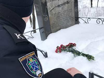 З нагоди Міжнародного Дня пам'яті жертв Голокосту курсанти факультету
