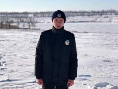 Курсант ДДУВС разом зі своїми батьками врятували життя рибалкам, що провалилися під лід