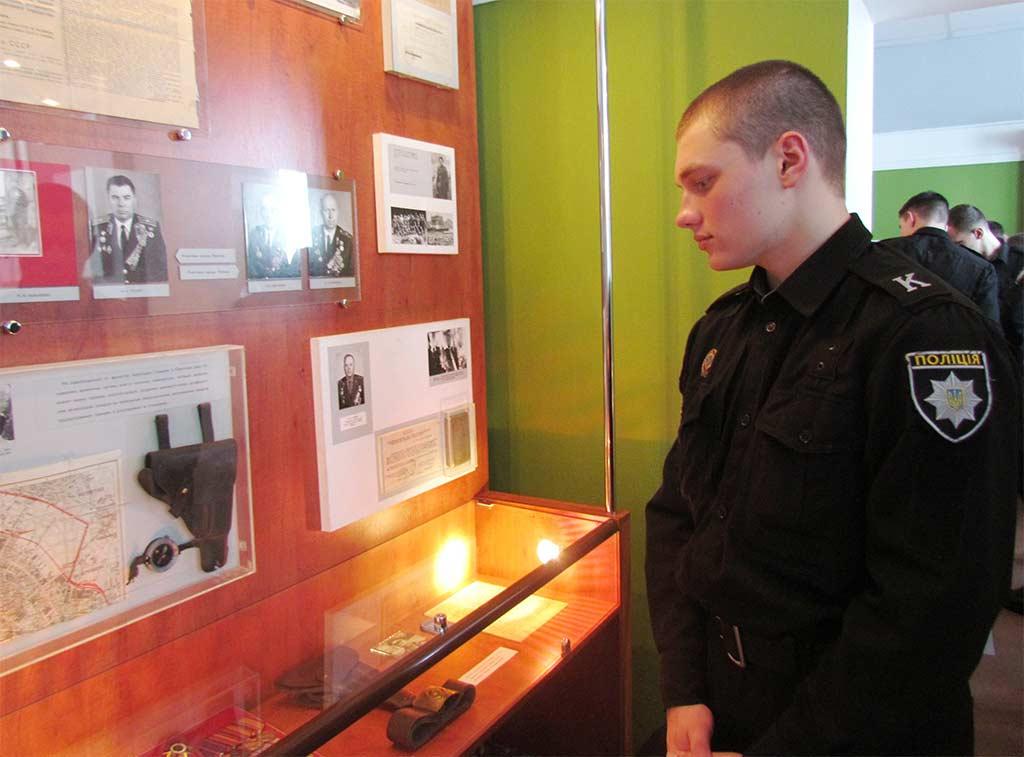 Курсанти університету відвідали обласний музей історії поліції