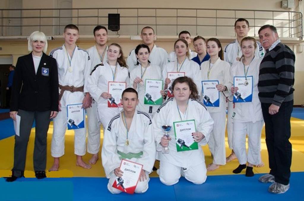 Збірна ДДУВС – чемпіон другого етапу Студентської Ліги дзюдо