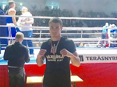 Курсант ДДУВС став срібним призером боксерського турніру GeeBee
