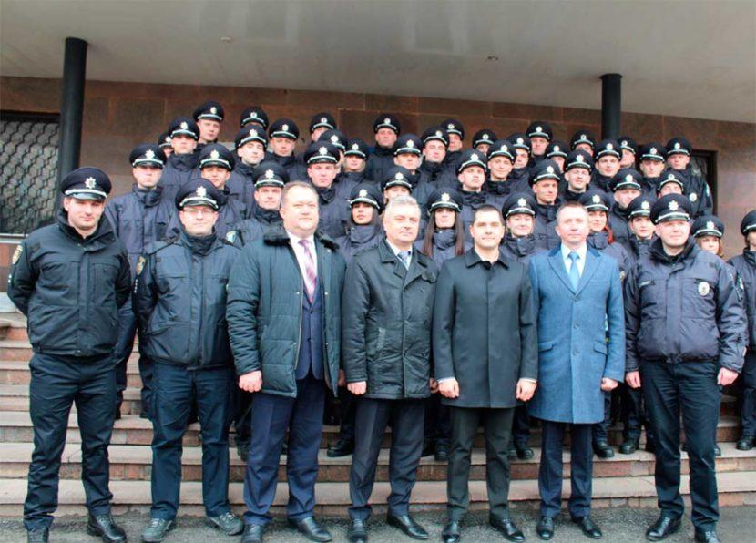 43 поліцейських поповнили лави правозахисників Дніпропетровщини