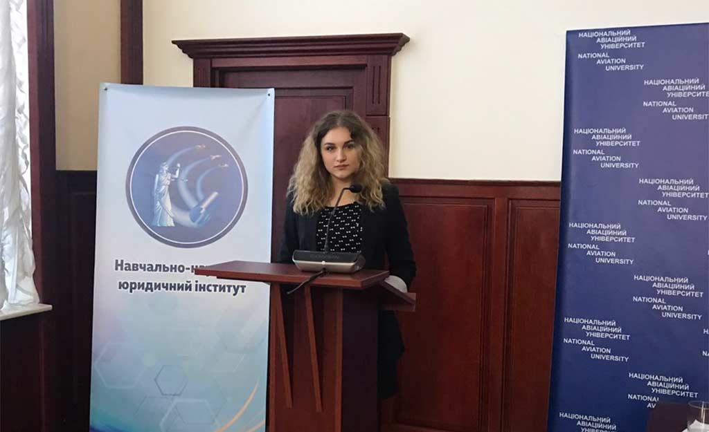 Студентка ДДУВС – призер підсумкого етапу Всеукраїнського конкурсу студентських наукових робіт