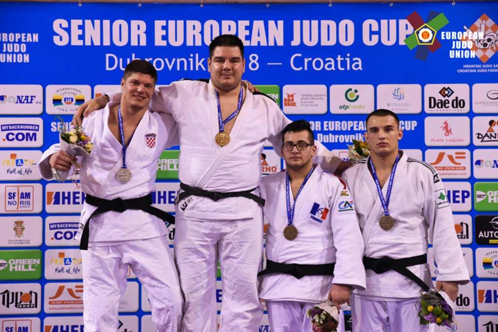 Федір Панько виграв бронзу Кубка Європи