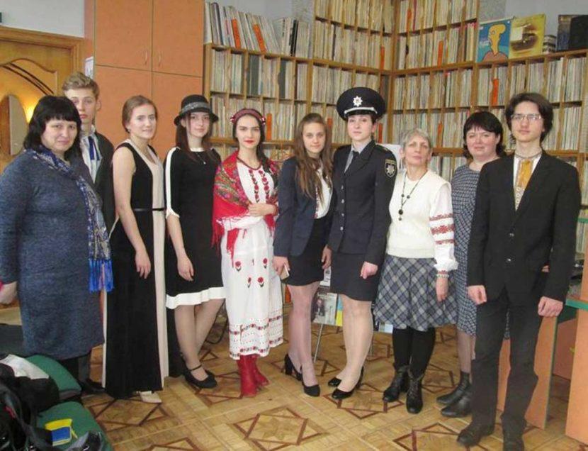Курсантка ДДУВС – переможниця всеукраїнського конкурсу читців