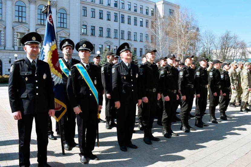 Курсанти університету взяли участь в урочистостях із нагоди проголошення клятви призовниками Дніпропетровщини
