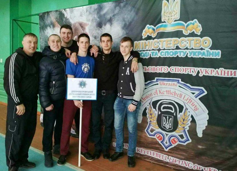 Спортсмени університету – призери Чемпіонату України з гирьового спорту