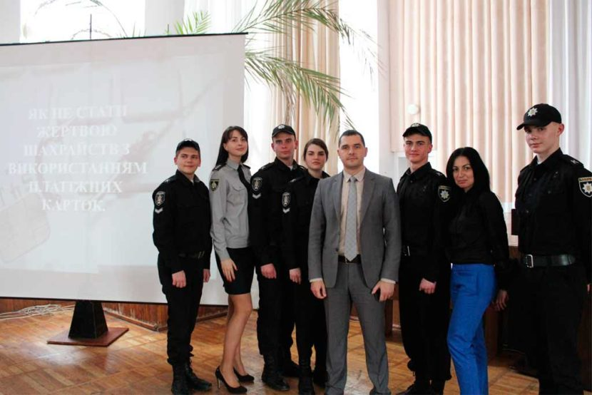 На Криворізькому факультеті ДДУВС спільно з Криворізьким відділом поліції провели тренінг