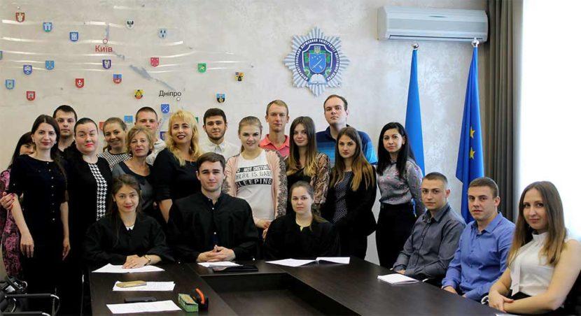 Магістри юридичного факультету разом із викладачами
