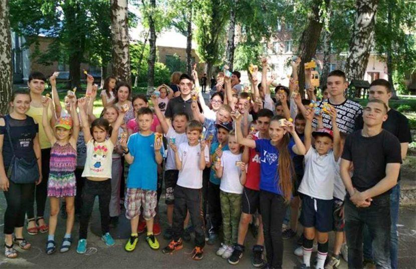 Спортивна естафета та конкурс малюнку на асфальті для юних, активних та творчих!
