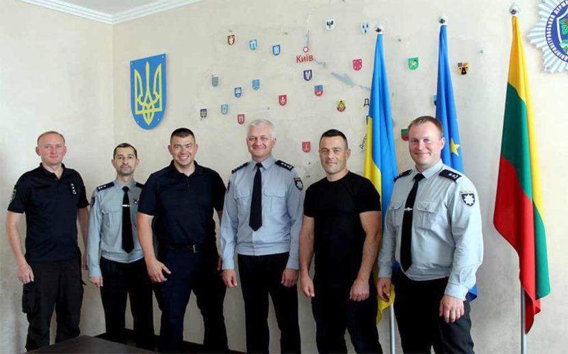Тренери Литовської школи поліції переймають досвід українських колег