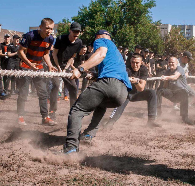 у Дніпропетровському державному університеті внутрішніх справ відбулося справжнє спортивне свято.
