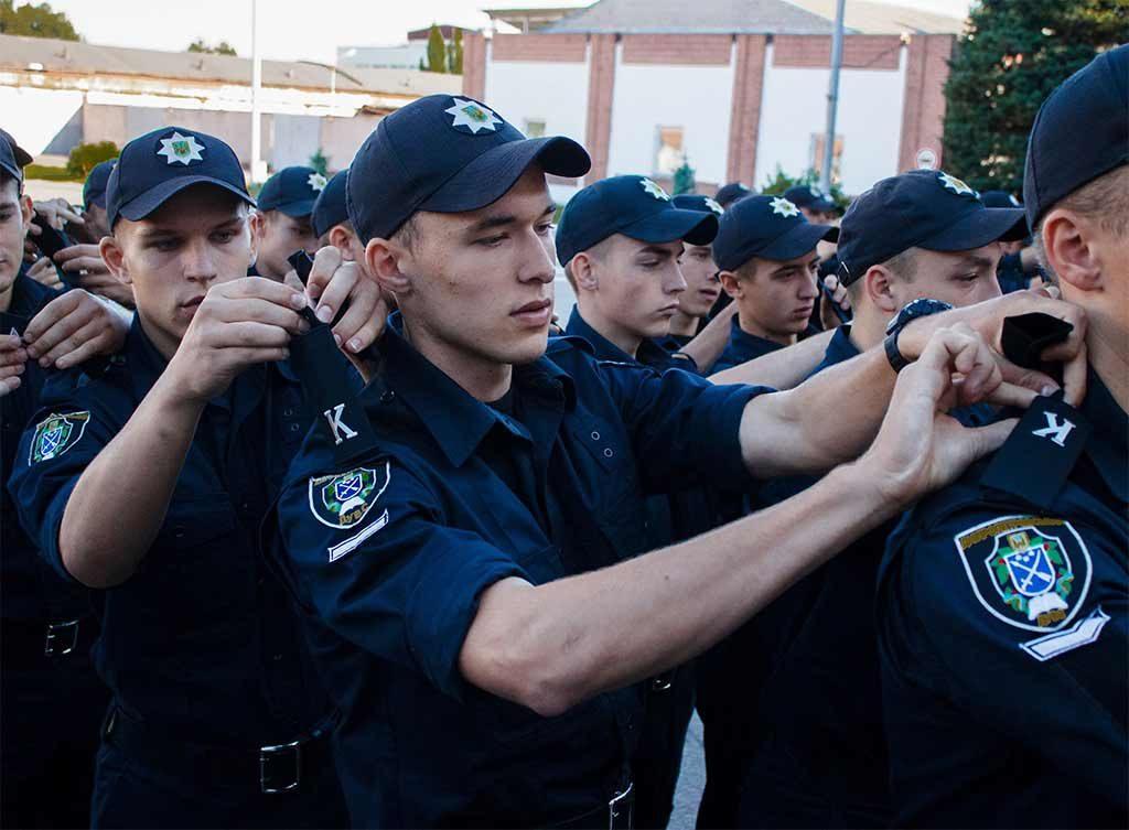 У Дніпропетровському державному університеті внутрішніх справ відбулося офіційне закриття табірного збору