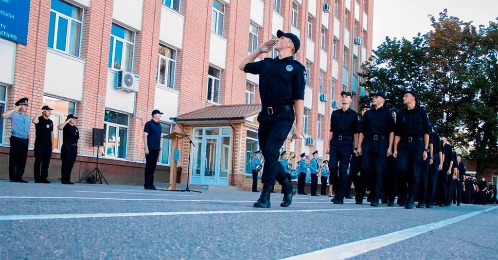 Сьогодні у Дніпропетровському державному університеті внутрішніх справ відбулося офіційне закриття табірного збору.