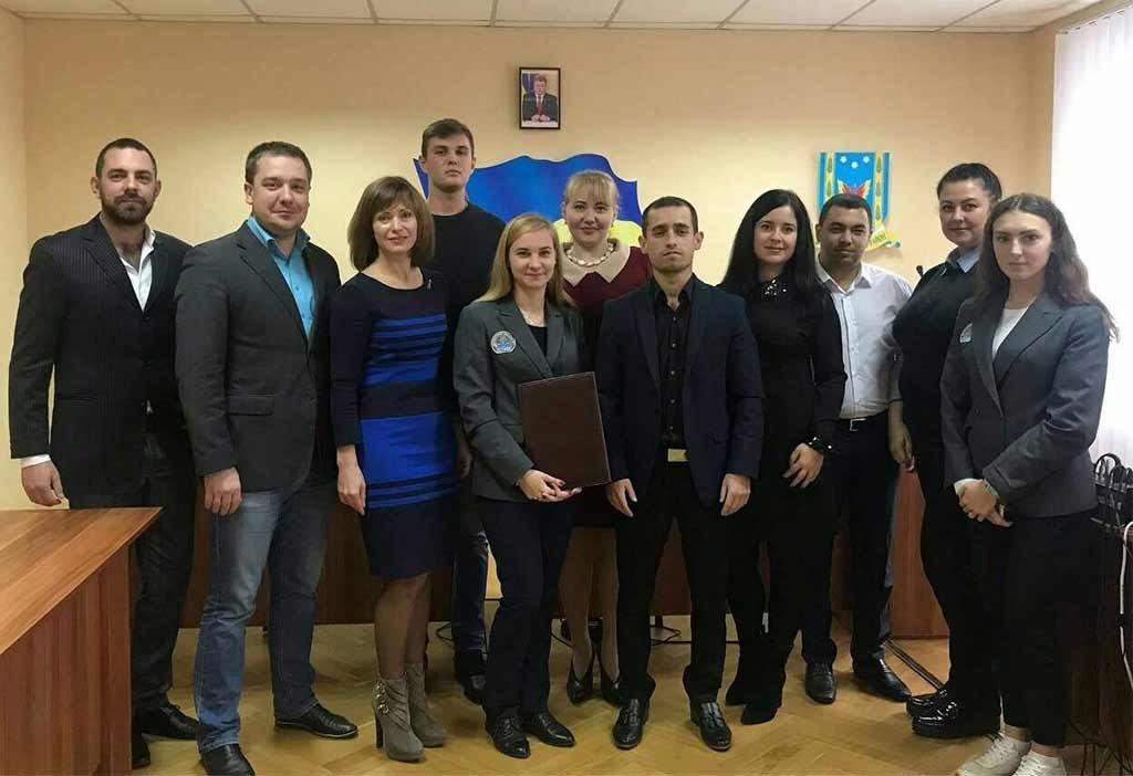 Підписання меморандуму про співпрацю з Шевченківською районною радою у місті Дніпро