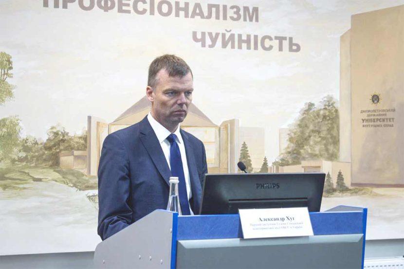Перший заступник Голови Спеціальної моніторингової місії ОБСЄ в Україні Александр Хуг