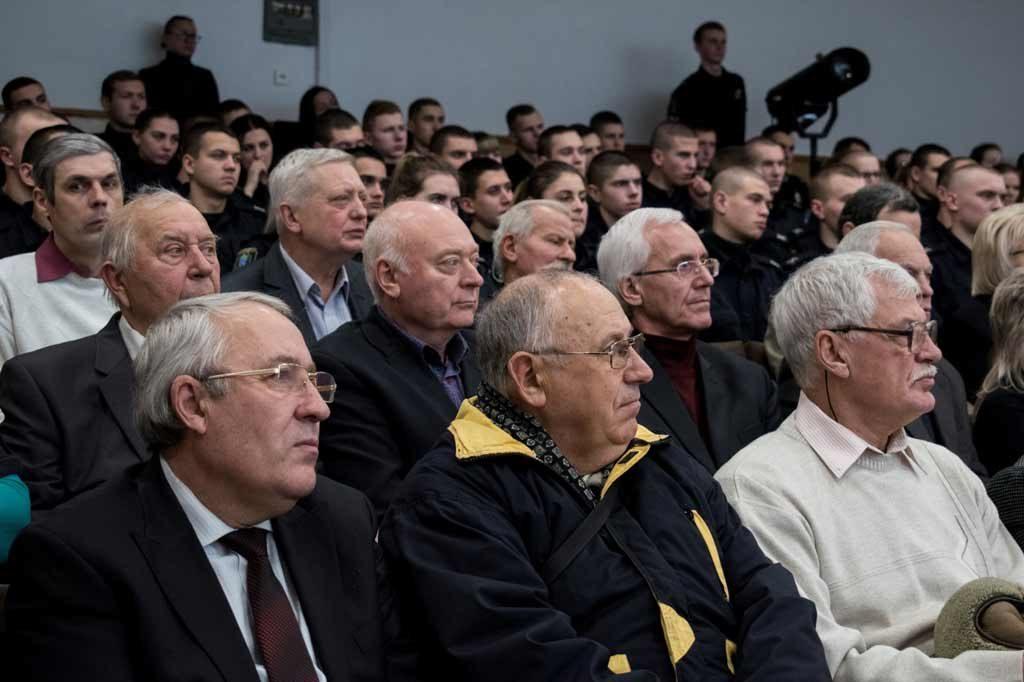 У ДДУВС привітали ветеранів МВС