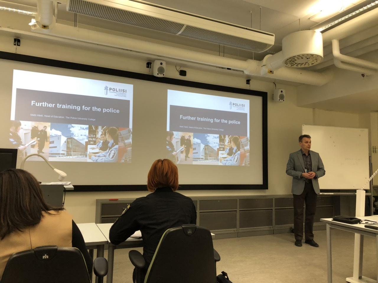 Викладач ДДУВС презентував у Фінляндії тренінговий центр із протидії домашньому насильству