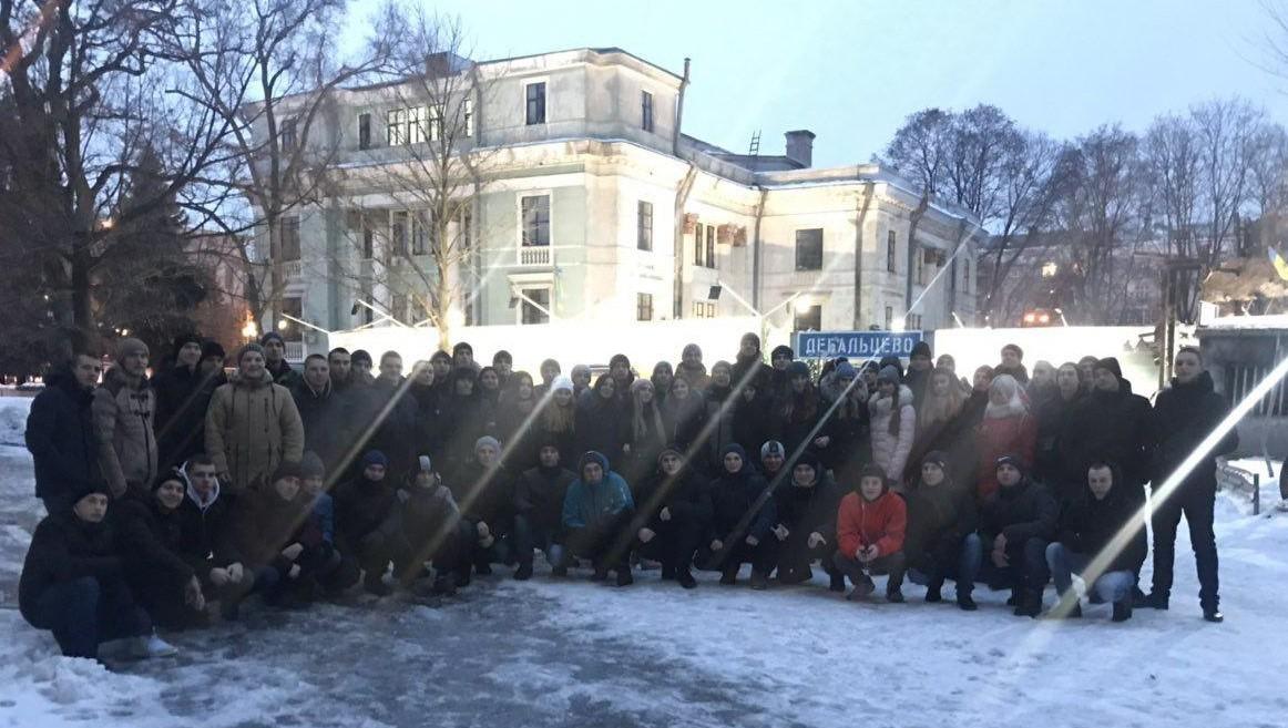 Молодь ДДУВС вшанувала пам'ять «кіборгів»