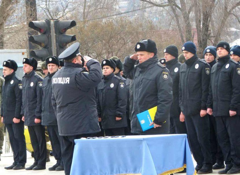 20 новобранців поповнили лави правоохоронних органів