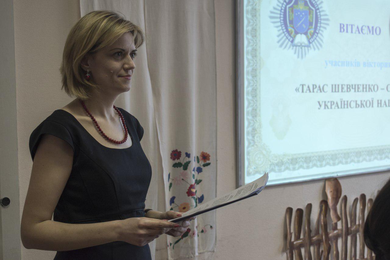 Тарас Шевченко – співець української нації