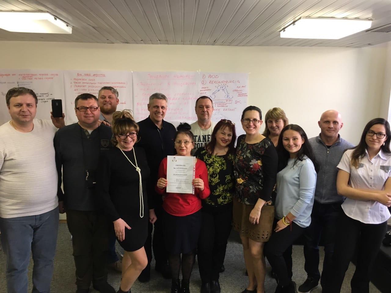 Новітній для України напрям медіації: фахівці ДДУВС опановували нові знання у Словакії