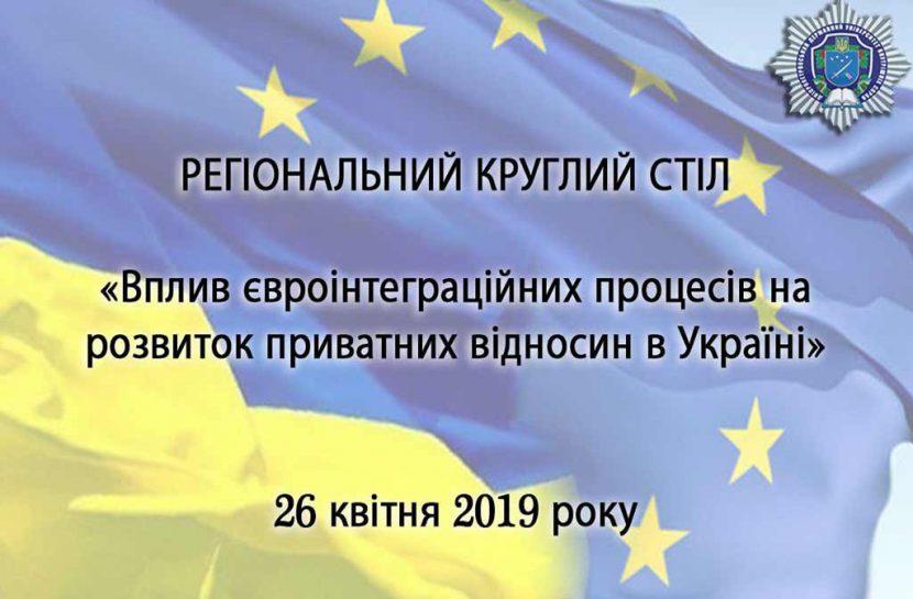 Вплив євроінтеграційних процесів на розвиток приватних відносин в Україні