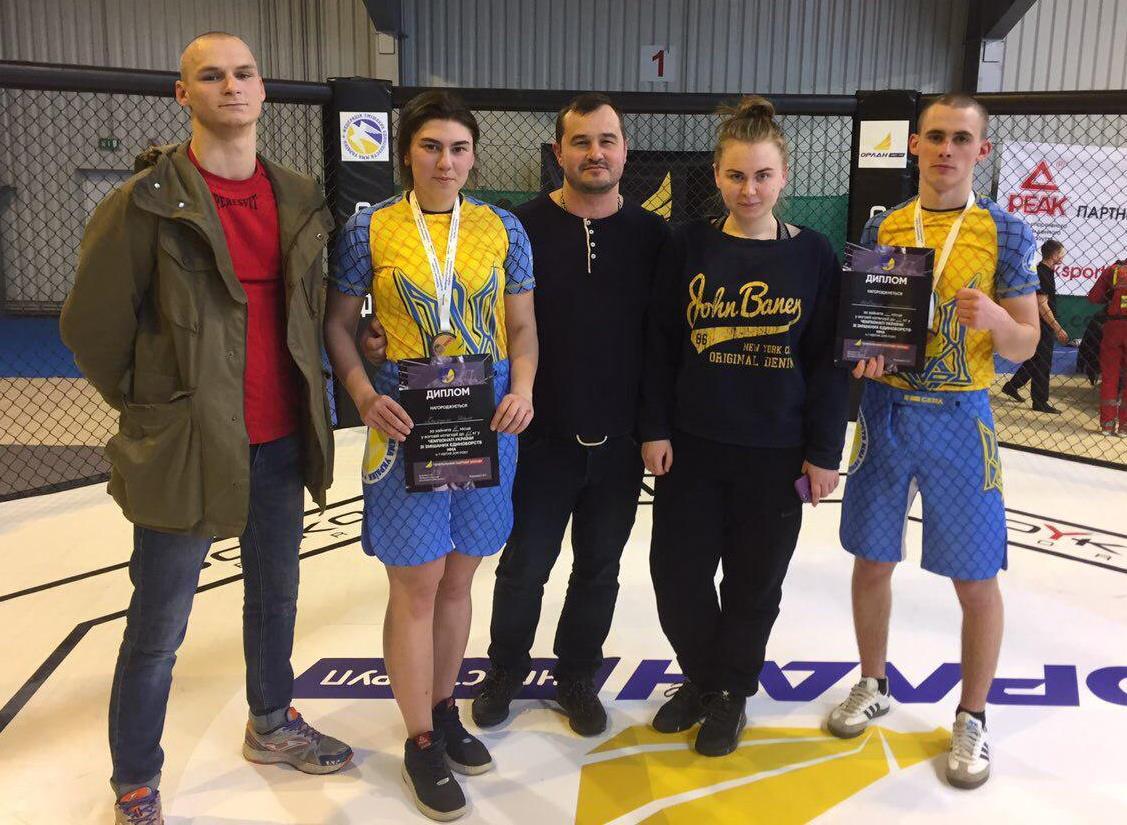 1 срібна та 2 бронзові медалі – результат ДДУВС на Чемпіонаті України зі змішаних єдиноборств ММА