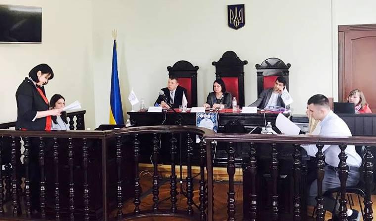 Майбутні правники взяли участь у всеукраїнських судових дебатах
