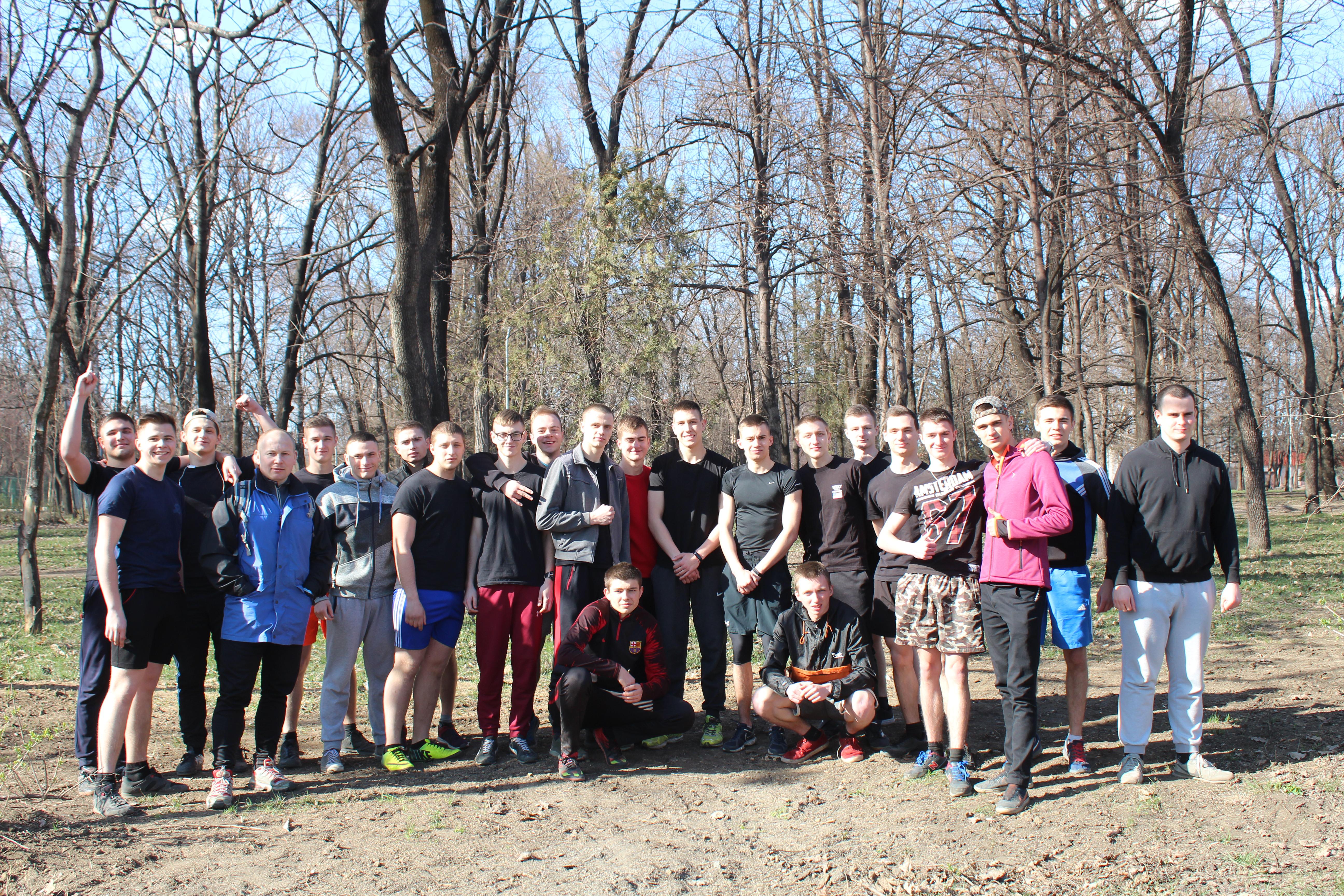Легкоатлети Криворізького факультету ДДУВС показали гідний результат!