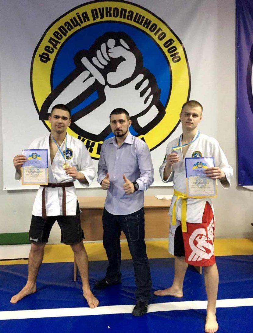 Троє першокурсників ДДУВС стали кращими рукопашниками у регіоні