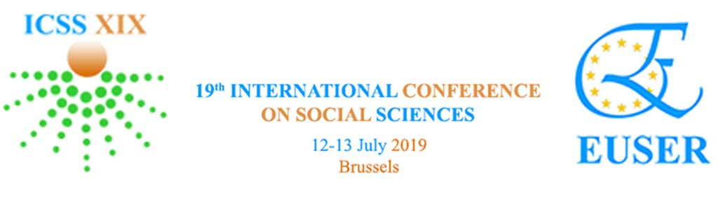 ICSS XIX, 12-13 July 2019 at the premises of Université Libre de Bruxelles