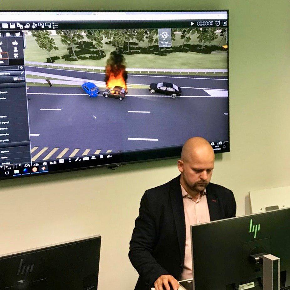 Невдовзі у ДДУВС: віртуальні симуляції, естонська програма підготовки диспетчерів та спільні проекти з психології