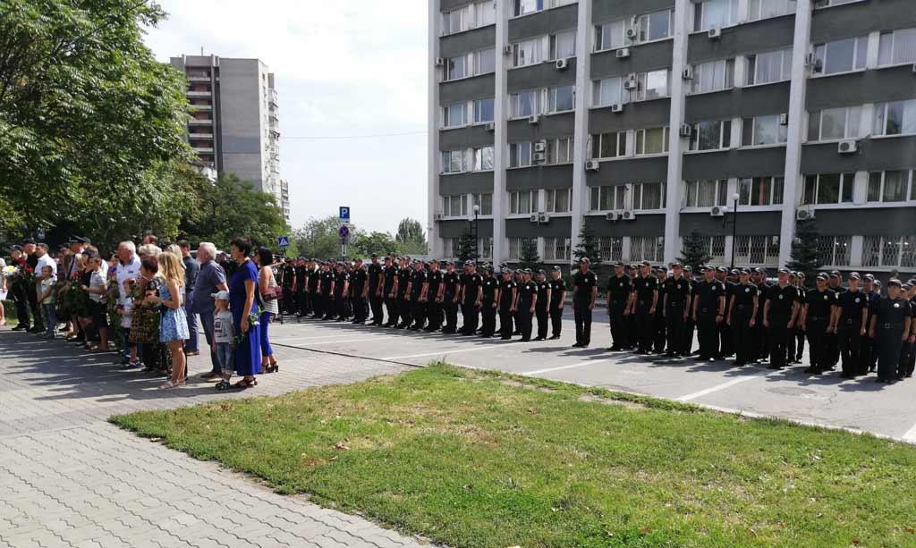 Вшанували пам'ять загиблих поліцейських