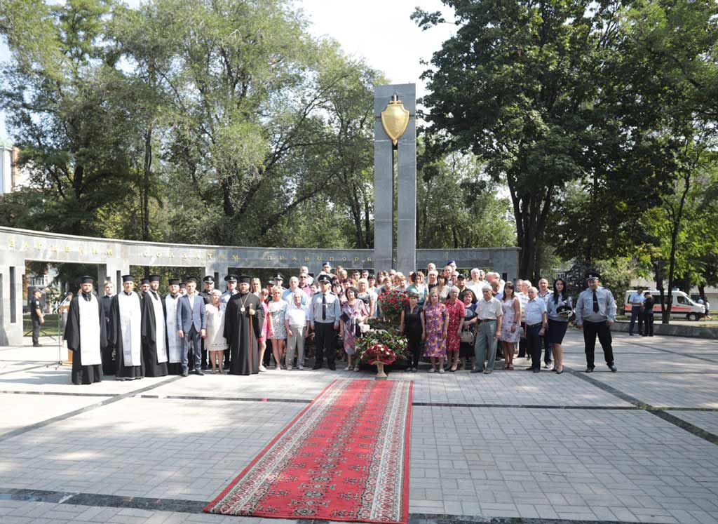 У Дніпрі вшанували пам'ять загиблих правоохоронців