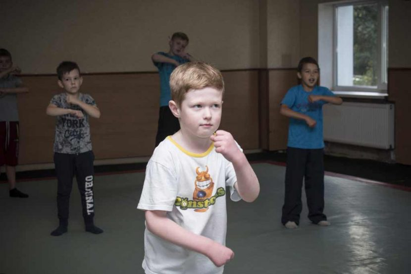 Тренування з самбо та дзюдо у ДДУВС