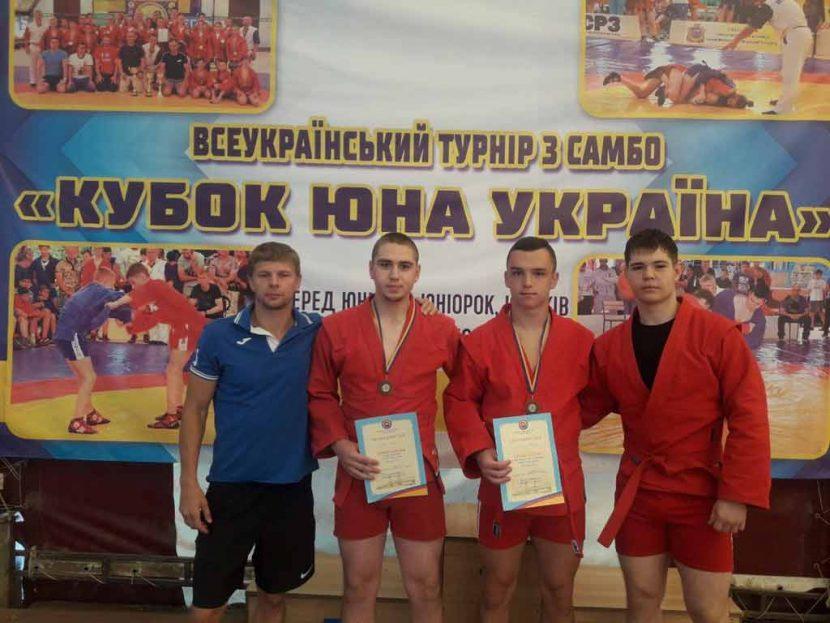 Курсанти ДДУВС отримали бронзові нагороди на всеукраїнському турнірі з самбо