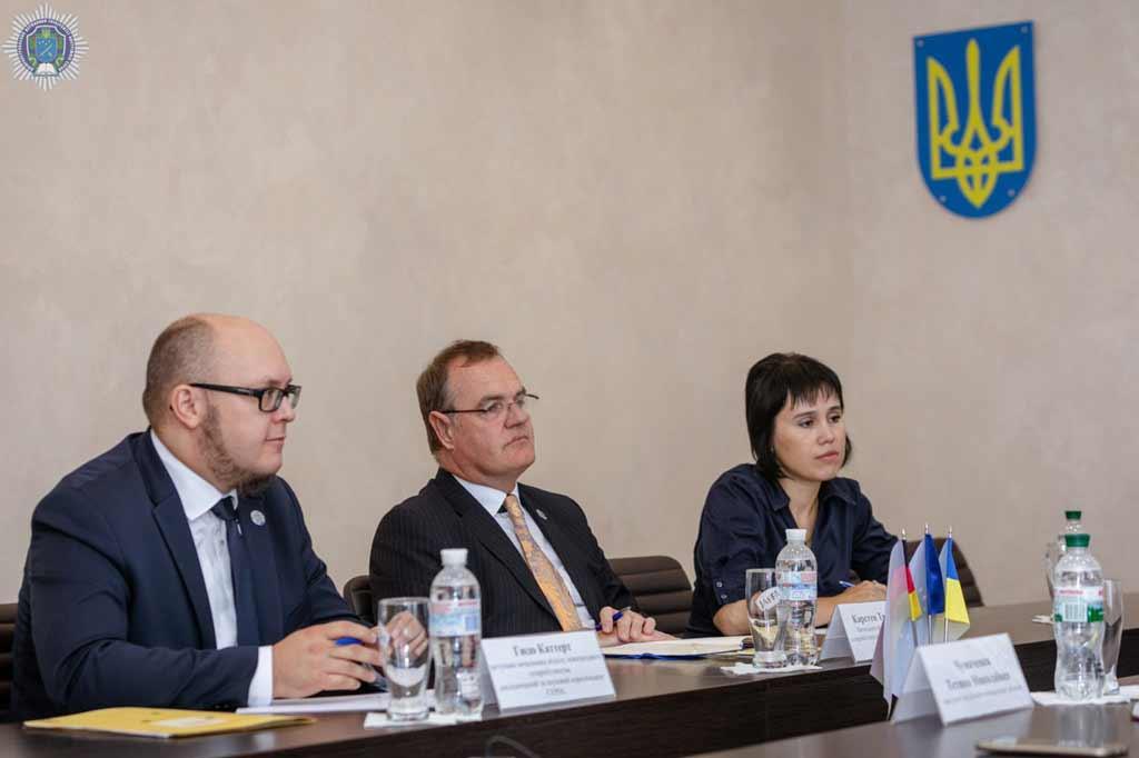 Європейський напрям освіти та наукове співробітництво: у ДДУВС – зустріч із німецькими колегами