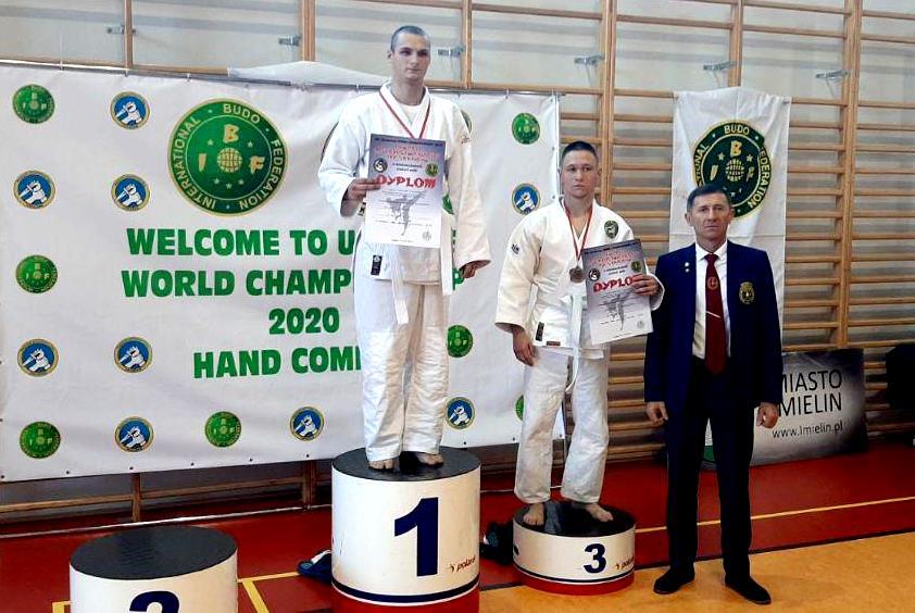 Курсант Єгор Набока отримав золото на Чемпіонаті Європи з рукопашного бою
