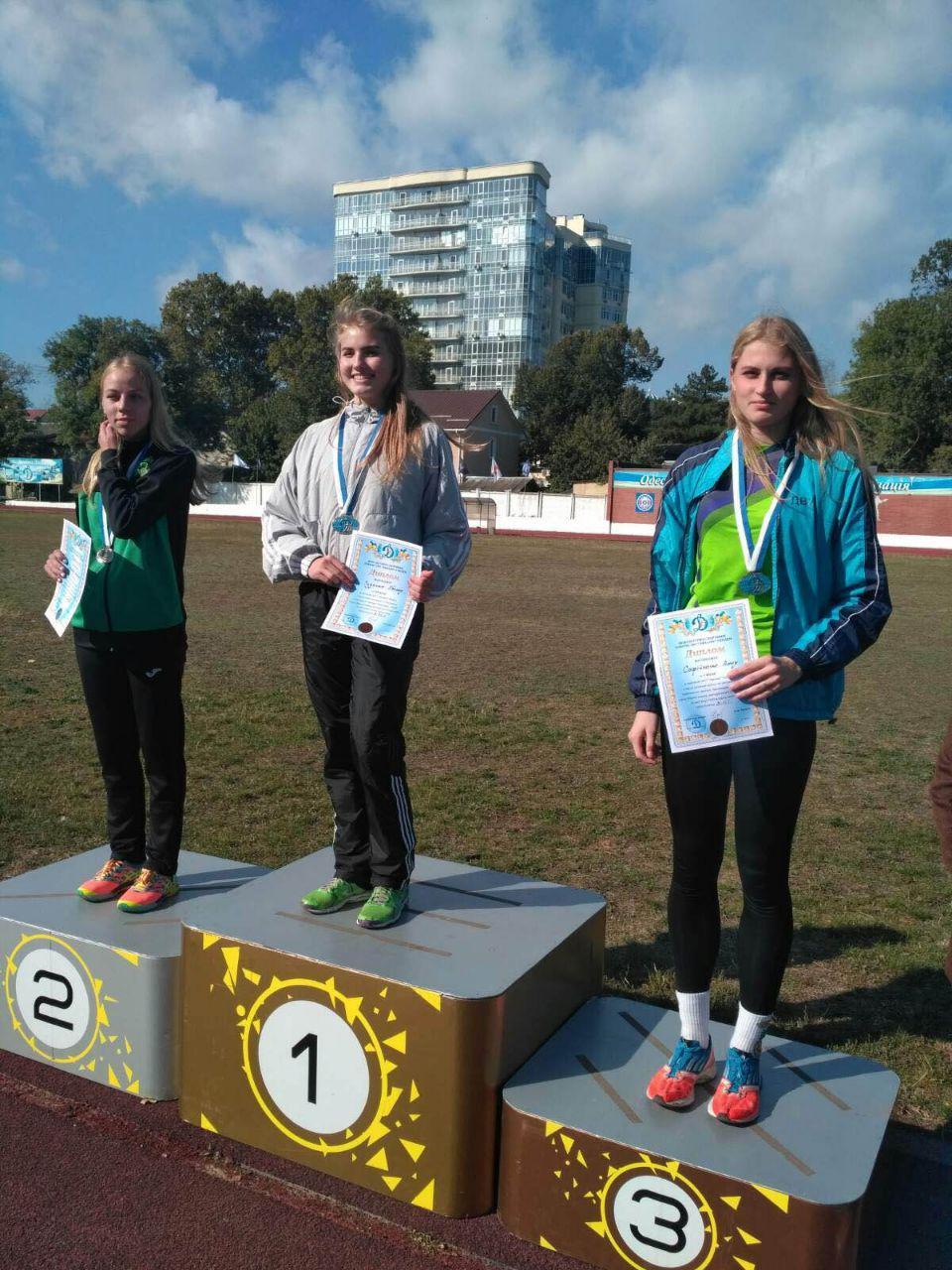 І знову наші легкоатлети у призерах!