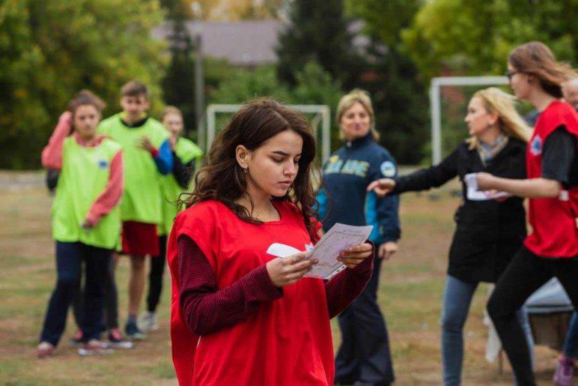 У ДДУВС вперше провели змагання зі спортивного орієнтування серед студентів 1 курсу юридичного факультету