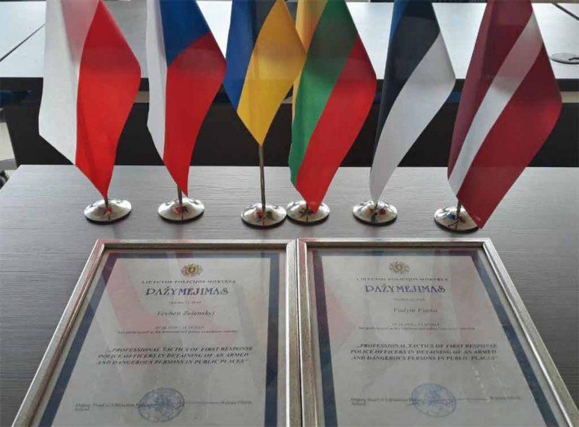 Тренінг у Литві: викладачі ДДУВС переймали досвід підготовки курсантів