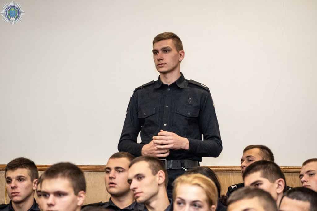 Ректор ДДУВС Андрій Фоменко: «Ви маєте стати професіоналами!»
