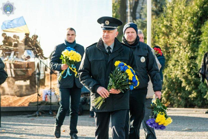 Ректор ДДУВС взяв участь в урочистостях до Дня Гідності та Свободи
