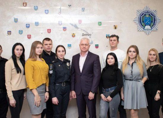 Представники курсантсько-студентської ради презентували ректору ДДУВС результати своєї діяльності