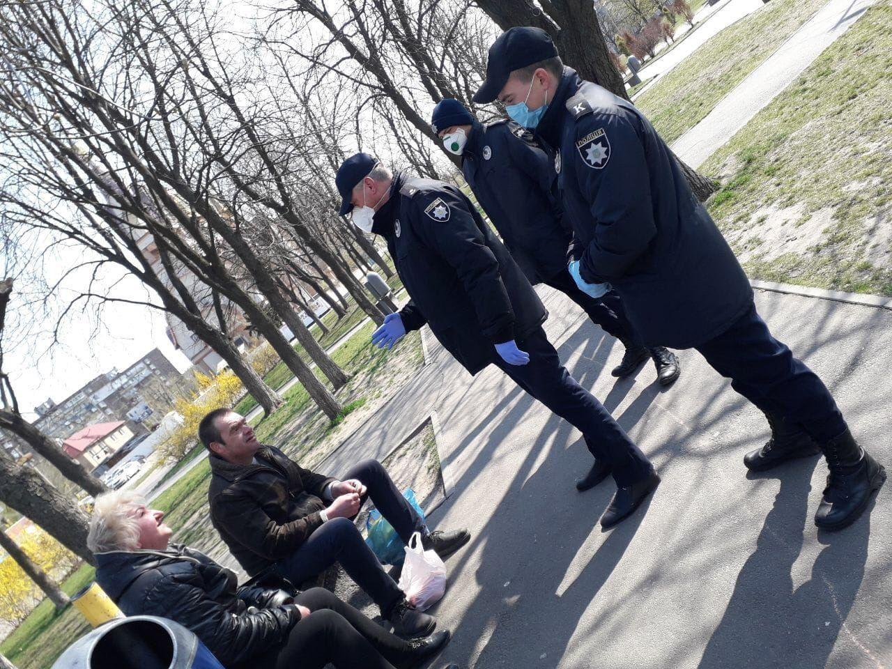 Майбутні поліцейські  на варті карантину!