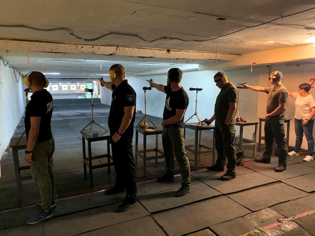 Збірна ДДУВС довела свою вправність у кульовій стрільбі